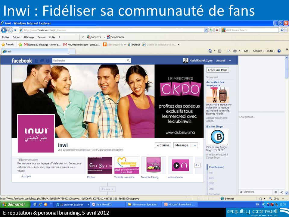 Inwi : Fidéliser sa communauté de fans