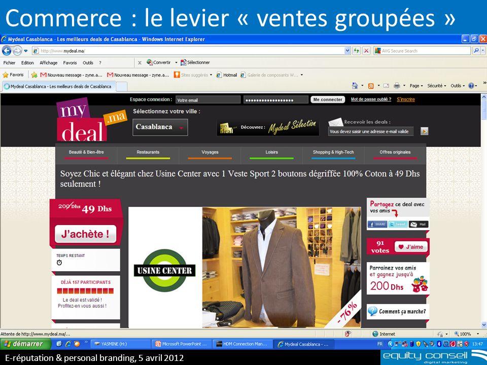 Commerce : le levier « ventes groupées »