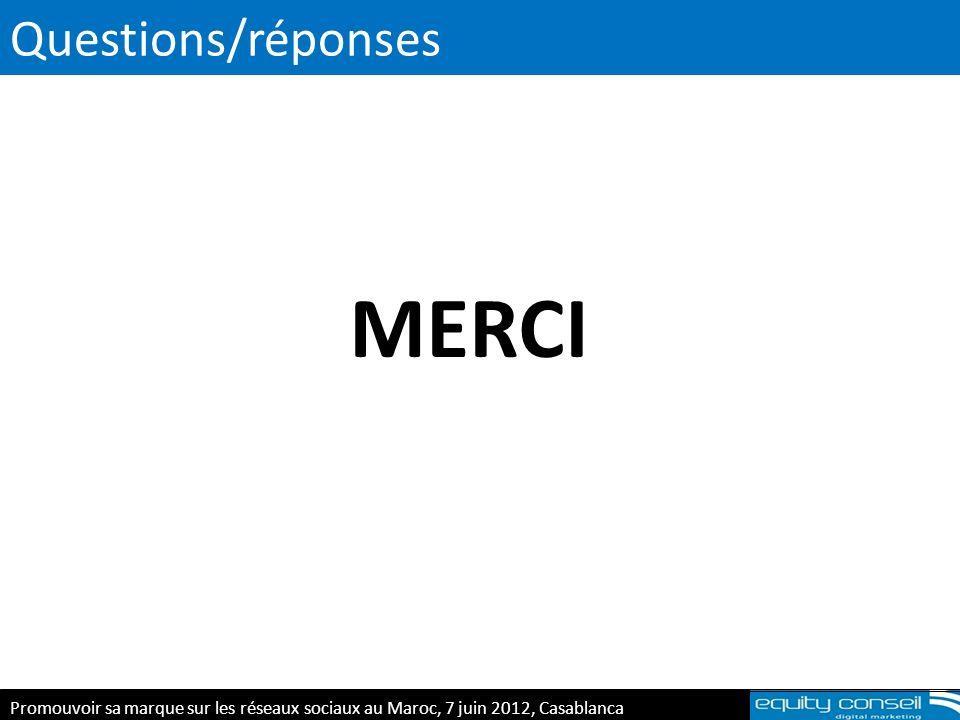 MERCI Questions/réponses Les consommateurs Les salariés
