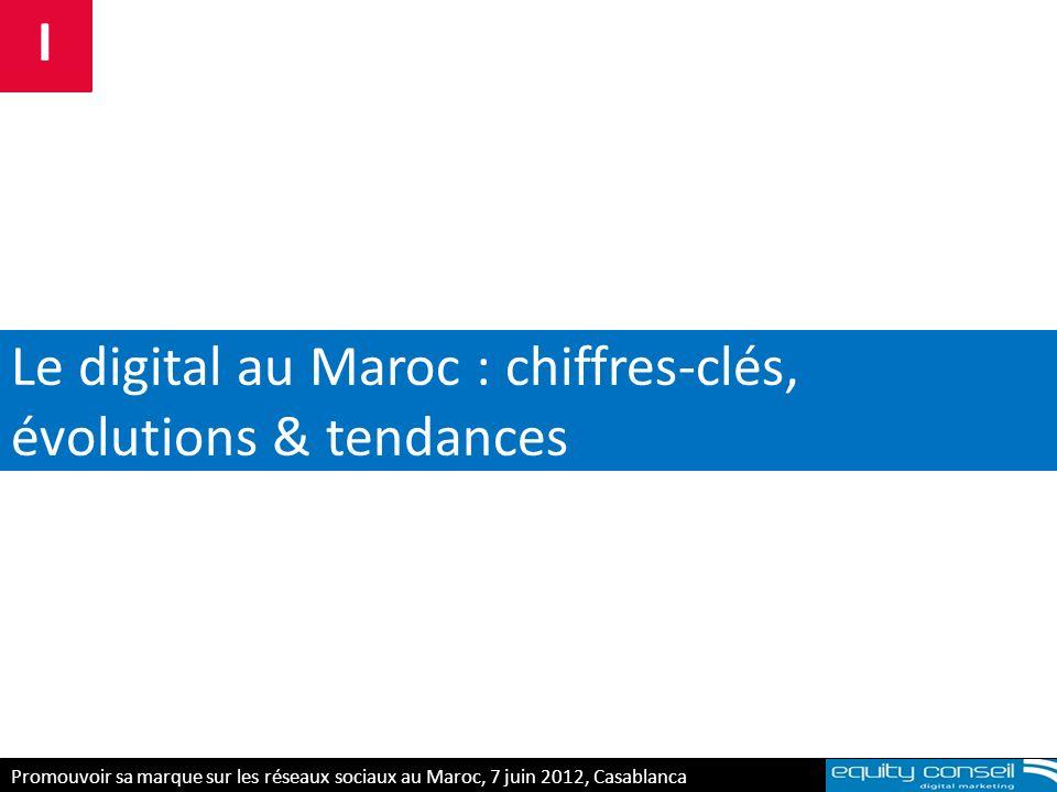 Le digital au Maroc : chiffres-clés, évolutions & tendances