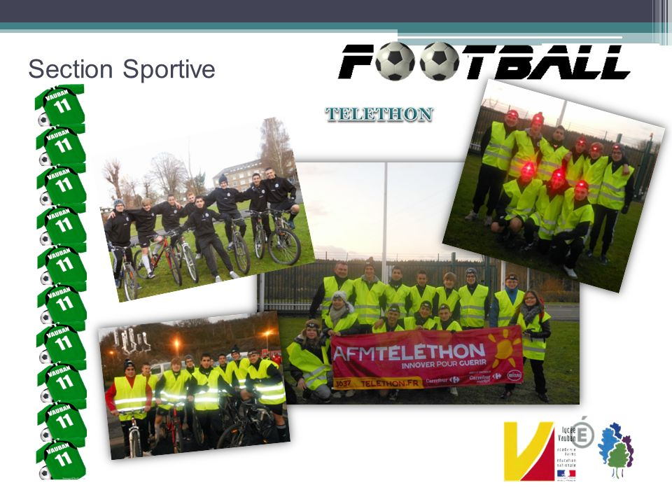 Section Sportive TELETHON