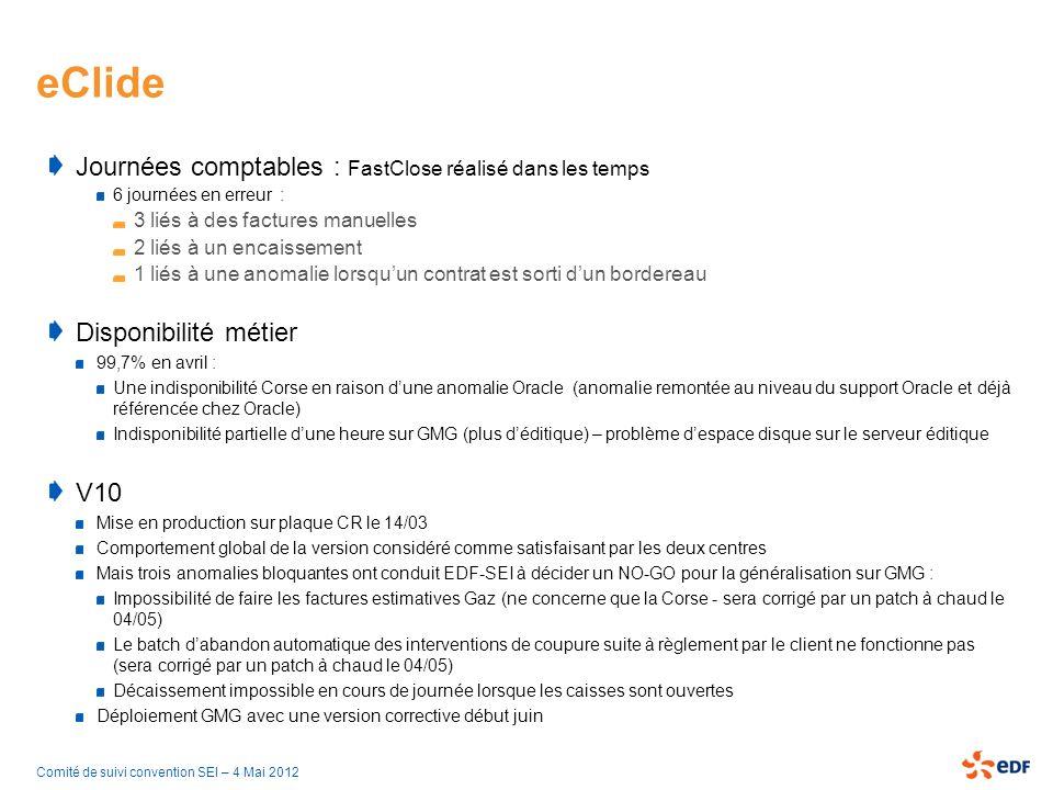 eClide Journées comptables : FastClose réalisé dans les temps