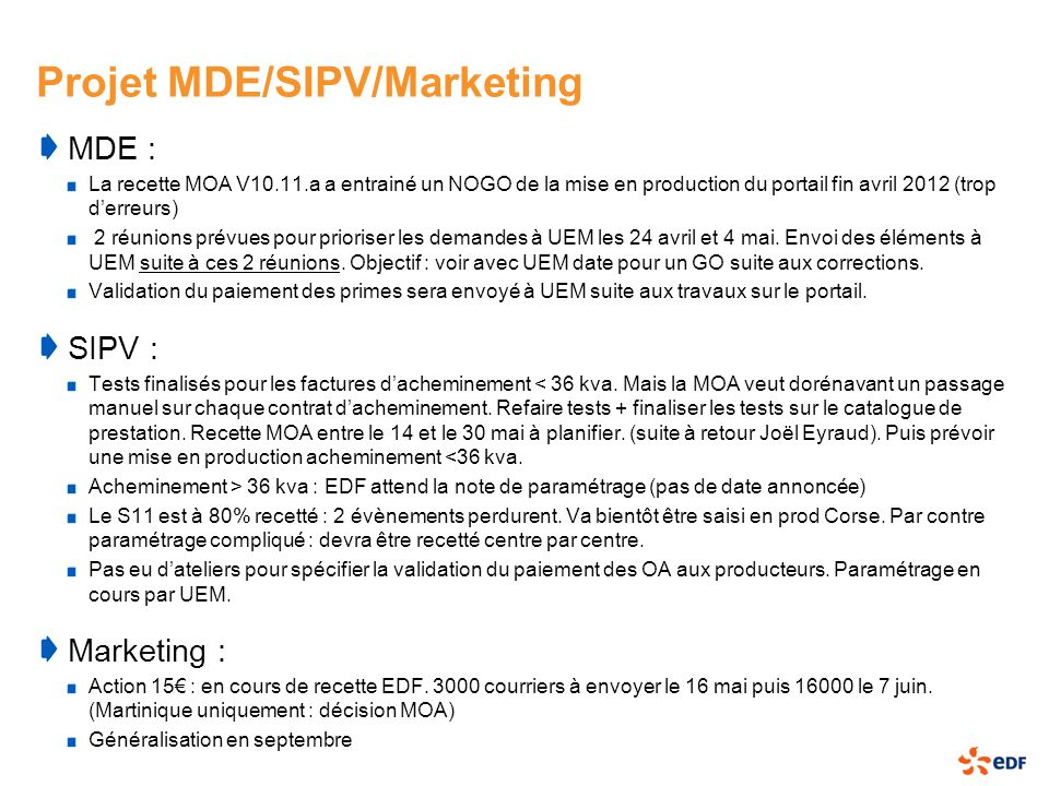 Projet MDE/SIPV/Marketing