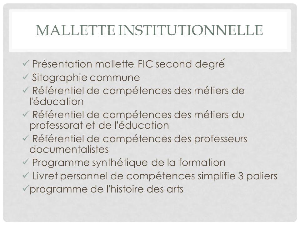Mallette institutionnelle