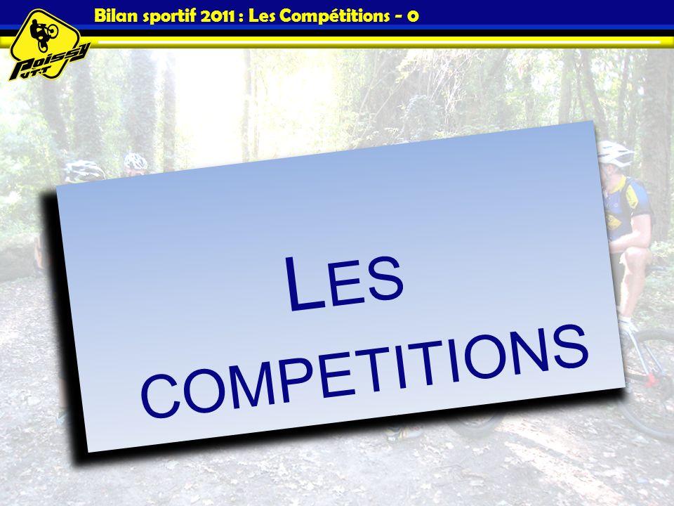 Bilan sportif 2011 : Les Compétitions - 0