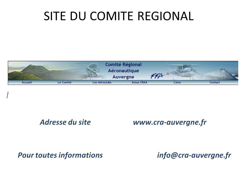 SITE DU COMITE REGIONAL