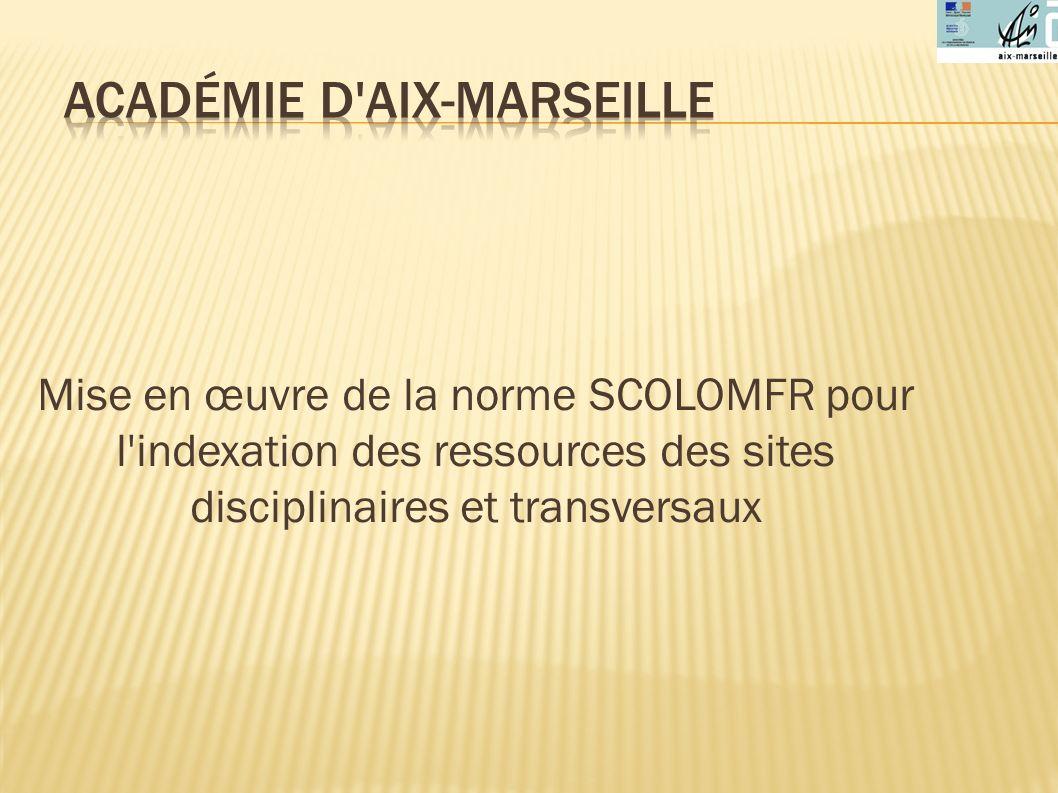 Académie d Aix-Marseille