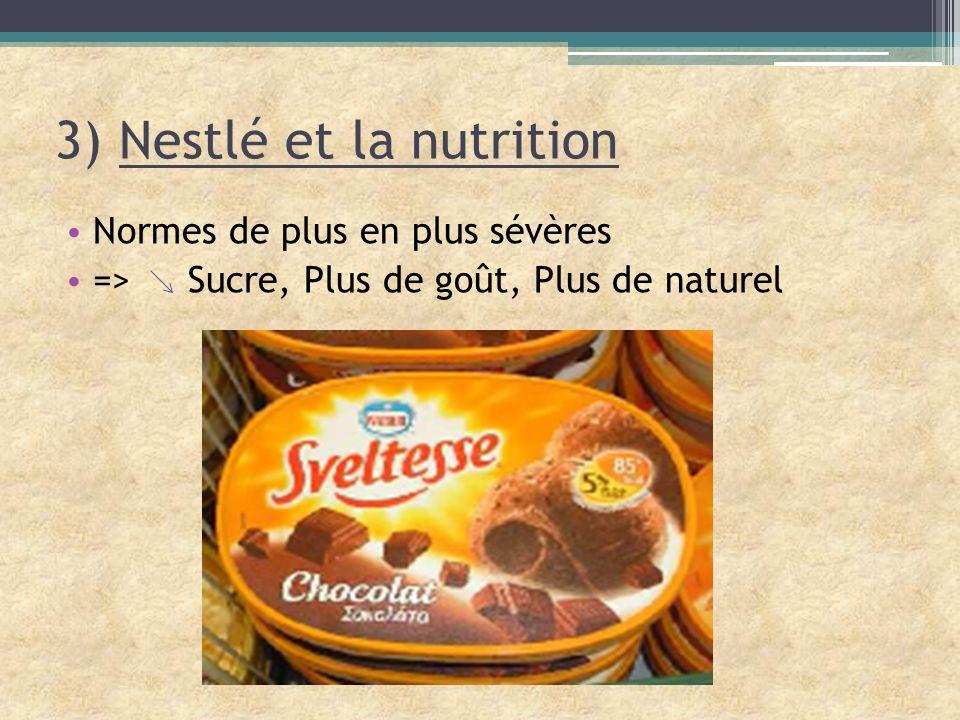 3) Nestlé et la nutrition