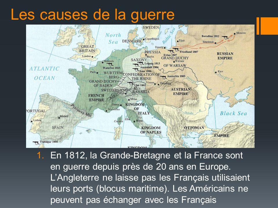 Les causes de la guerre