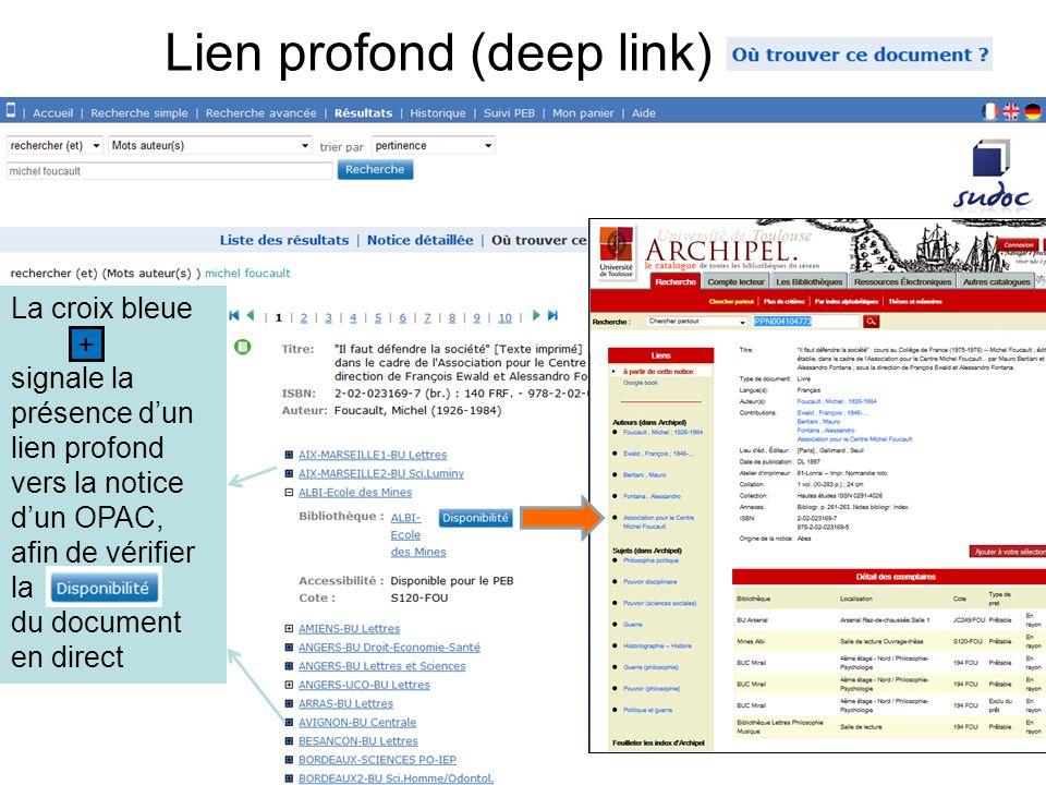 Lien profond (deep link)