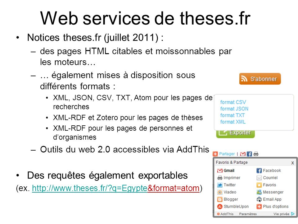 Web services de theses.fr