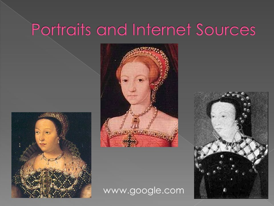Portraits and Internet Sources