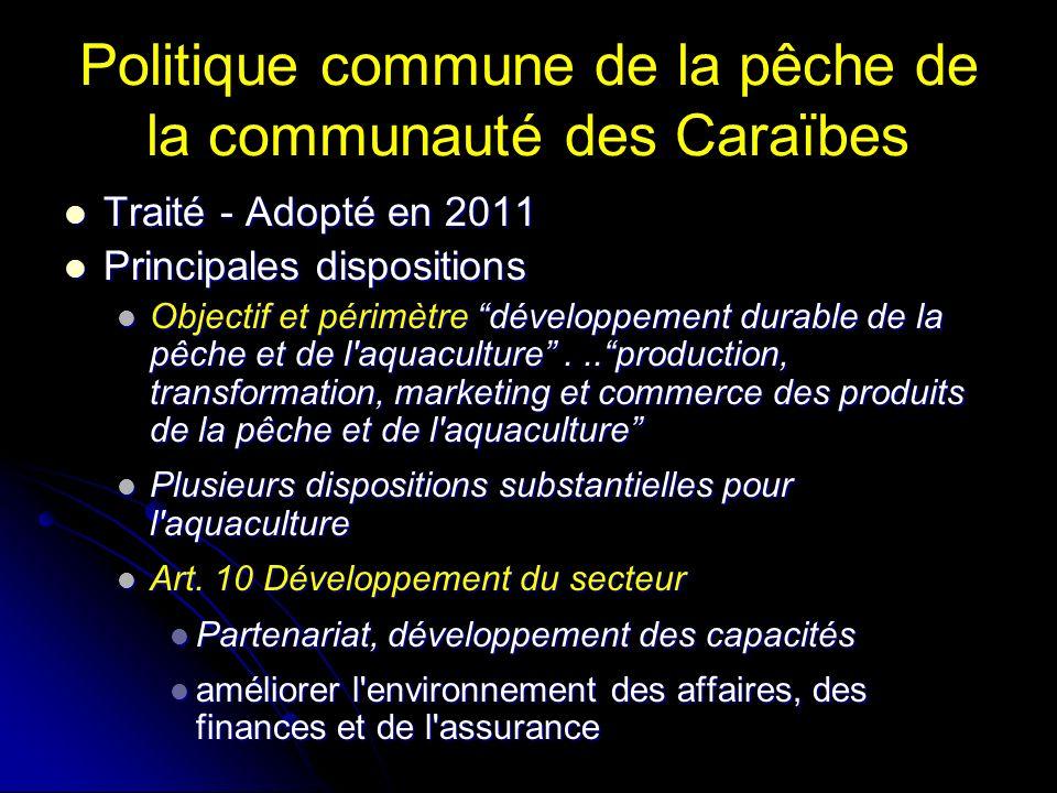 Politique commune de la pêche de la communauté des Caraïbes