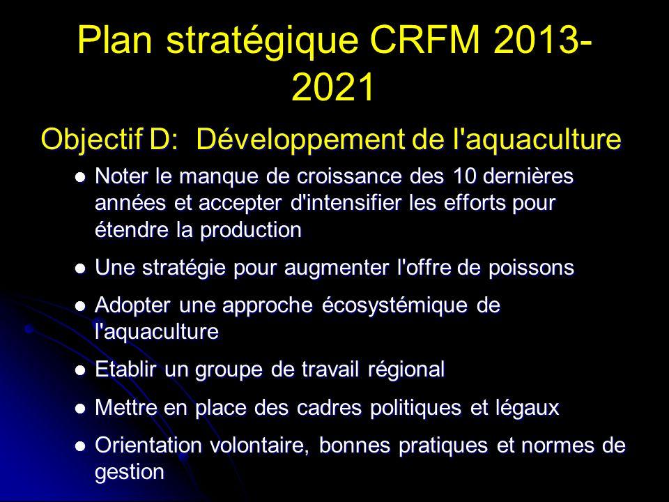 Plan stratégique CRFM 2013-2021