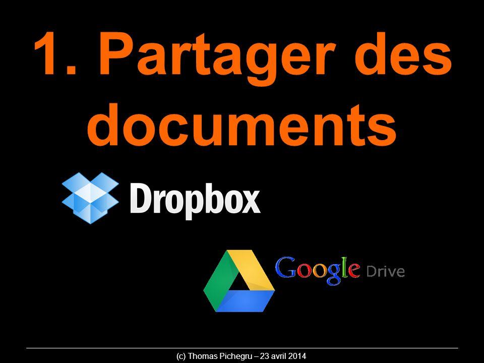 1. Partager des documents