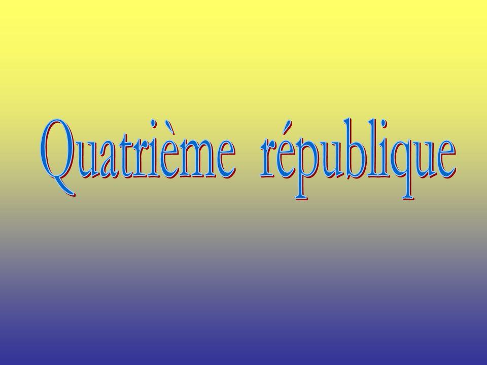 Quatrième république