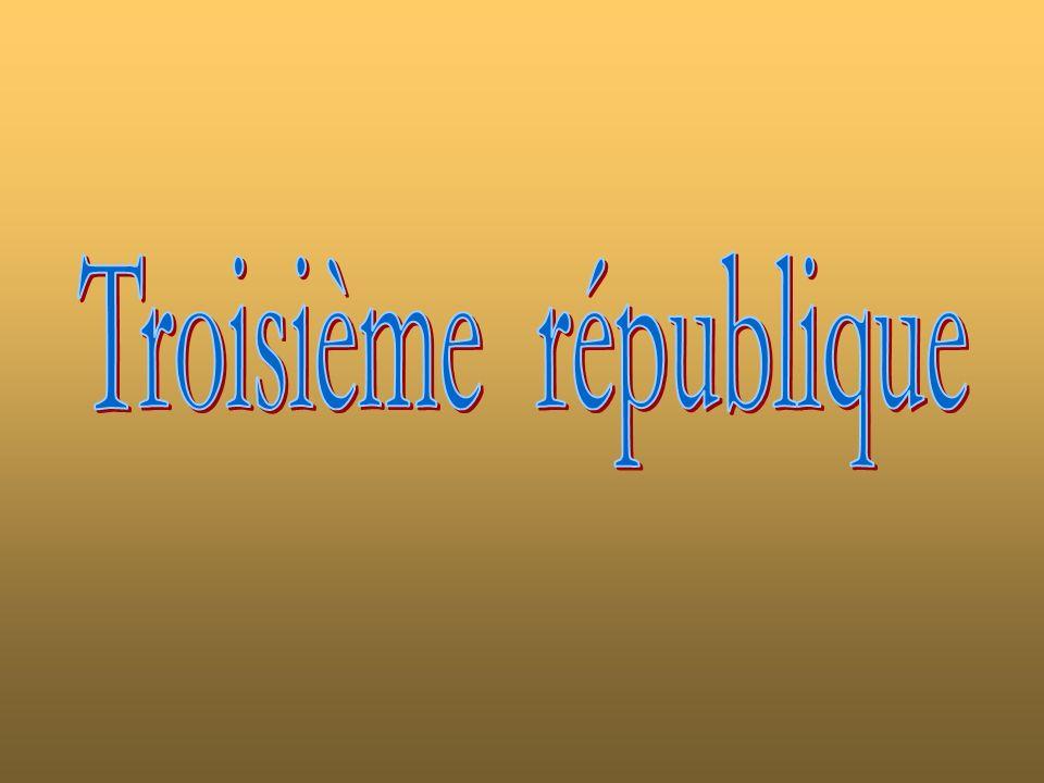Troisième république