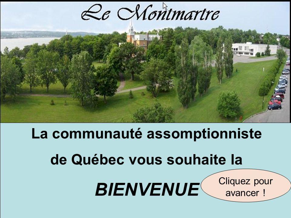 La communauté assomptionniste de Québec vous souhaite la