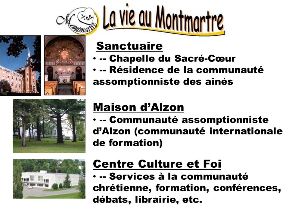 Maison d'Alzon Centre Culture et Foi Sanctuaire