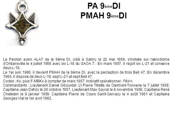 PA 9èmeDI PMAH 9èmeDI.