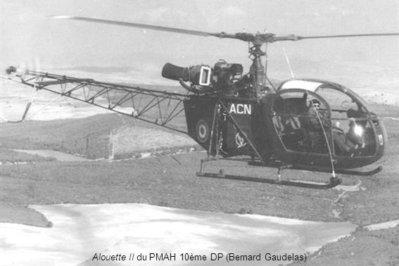 Alouette II du PMAH 10ème DP (Bernard Gaudelas)
