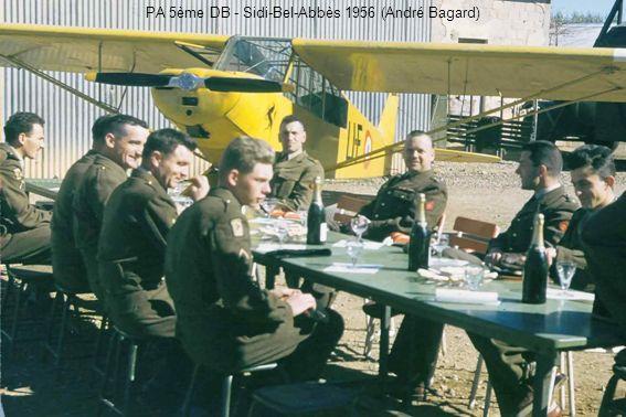PA 5ème DB - Sidi-Bel-Abbès 1956 (André Bagard)