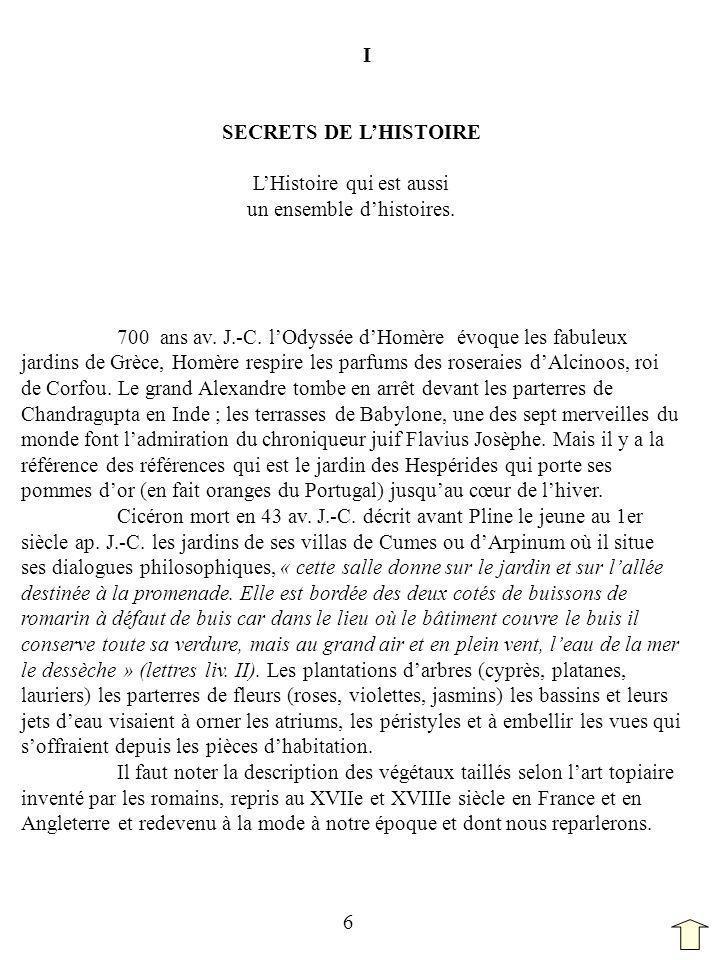 I SECRETS DE L'HISTOIRE