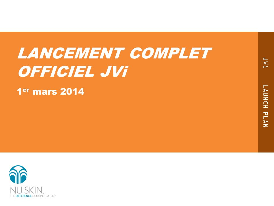LANCEMENT COMPLET OFFICIEL JVi