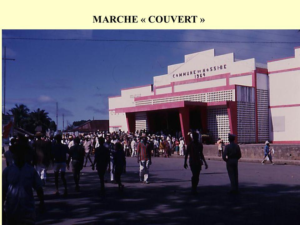 MARCHE « COUVERT »