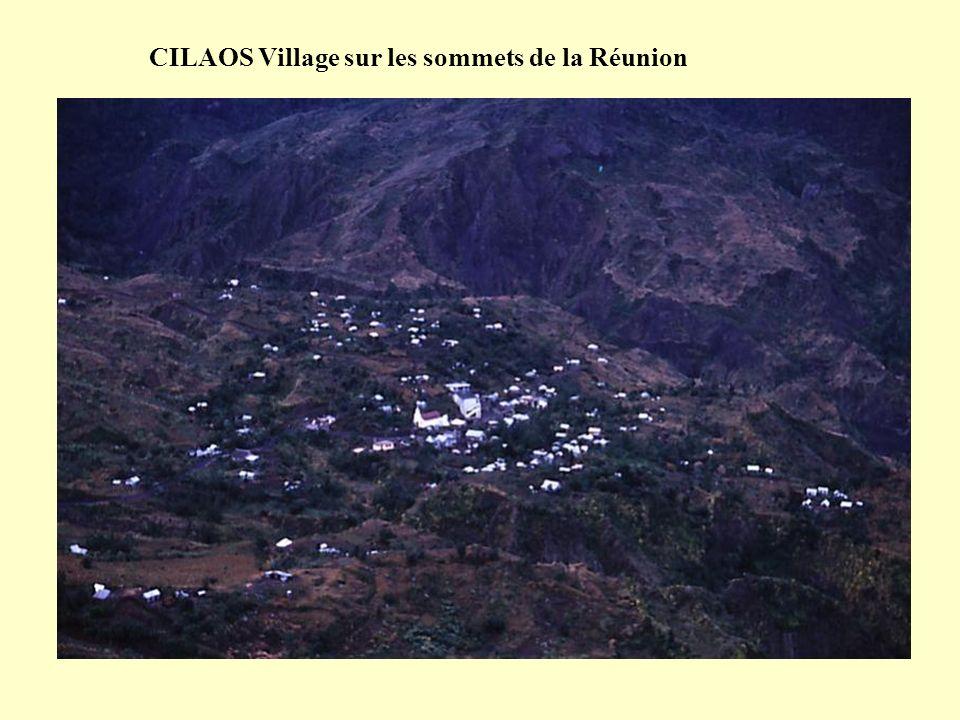 CILAOS Village sur les sommets de la Réunion