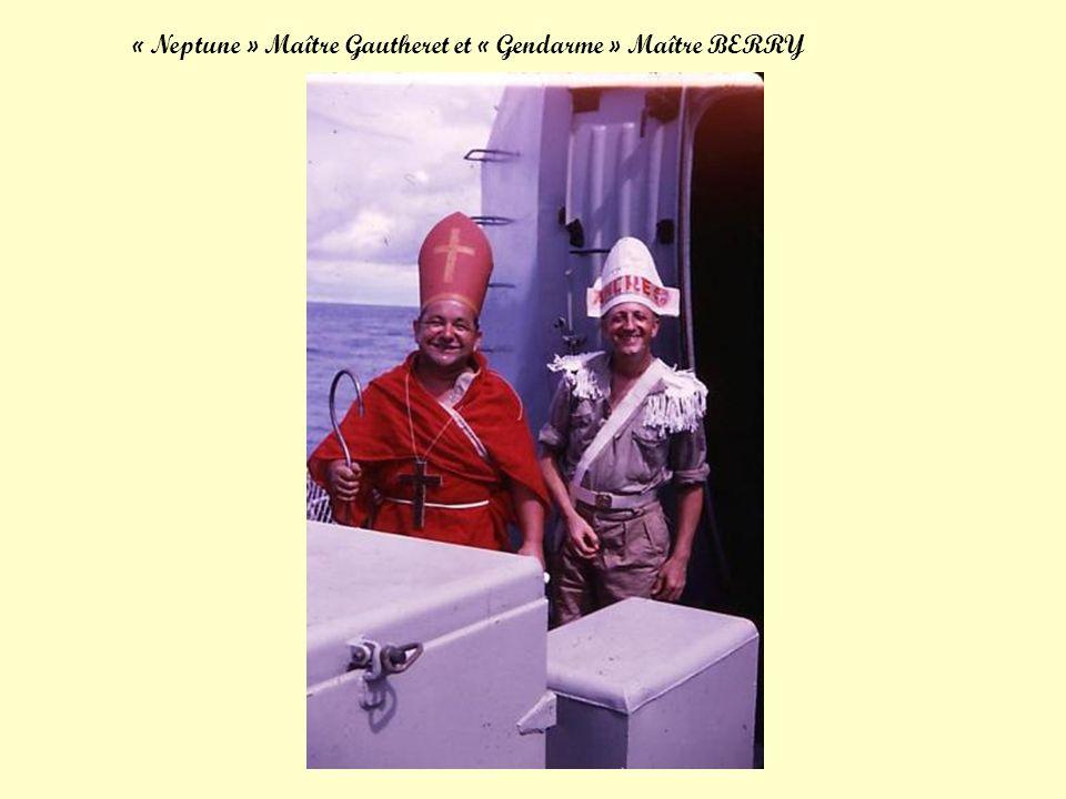 « Neptune » Maître Gautheret et « Gendarme » Maître BERRY