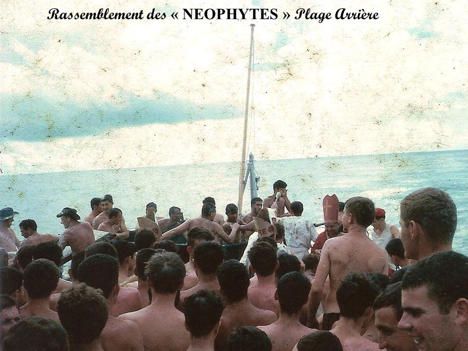 Rassemblement des « NEOPHYTES » Plage Arrière