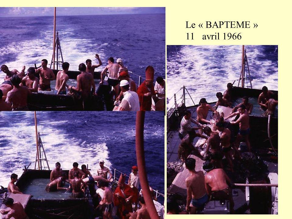 Le « BAPTEME » 11 avril 1966