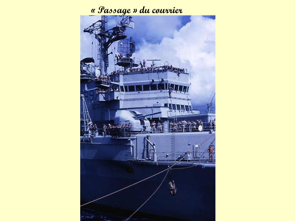 « Passage » du courrier