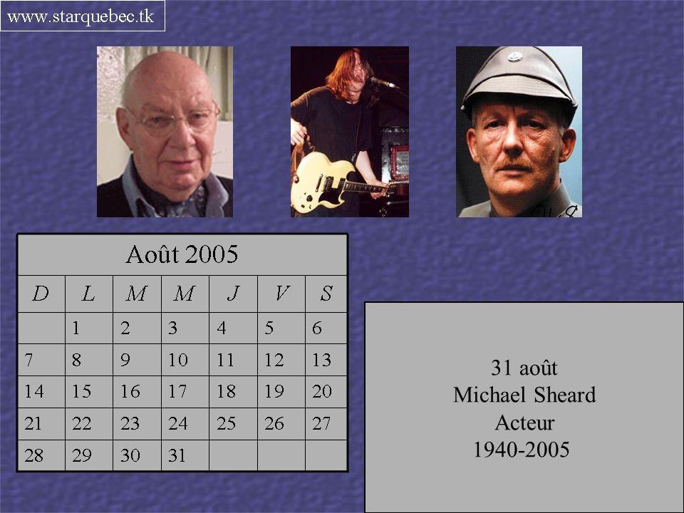Musicien du groupe Voivoid 1960-2005 26 août Marius Fortier