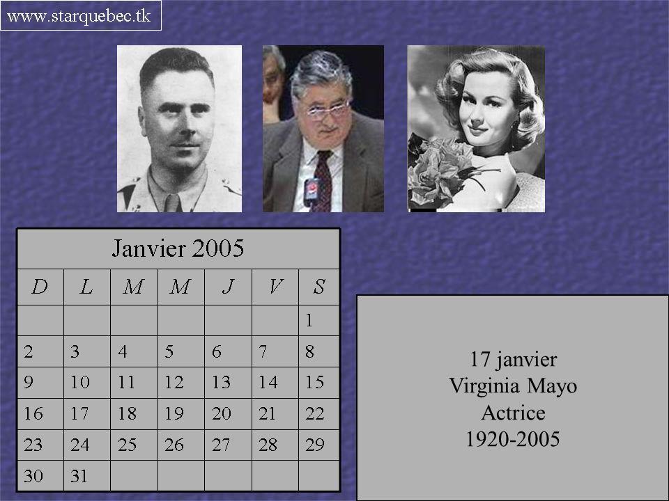 Directeur à Télé-Métropole 1925-2005 14 janvier Edwin Bélanger