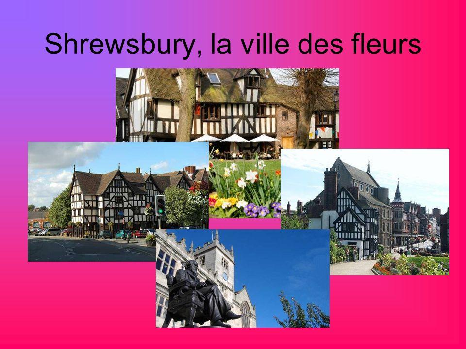 Shrewsbury, la ville des fleurs