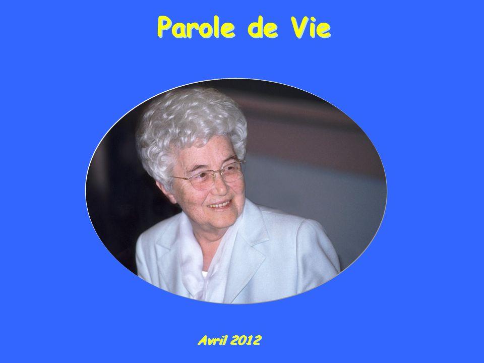 Parole de Vie Avril 2012