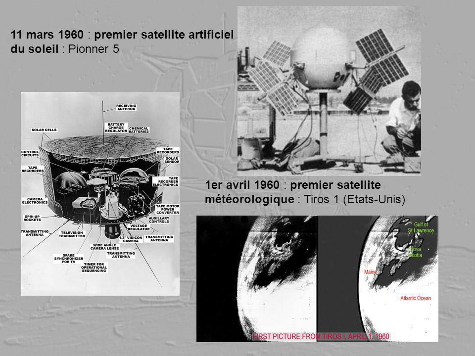 11 mars 1960 : premier satellite artificiel du soleil : Pionner 5