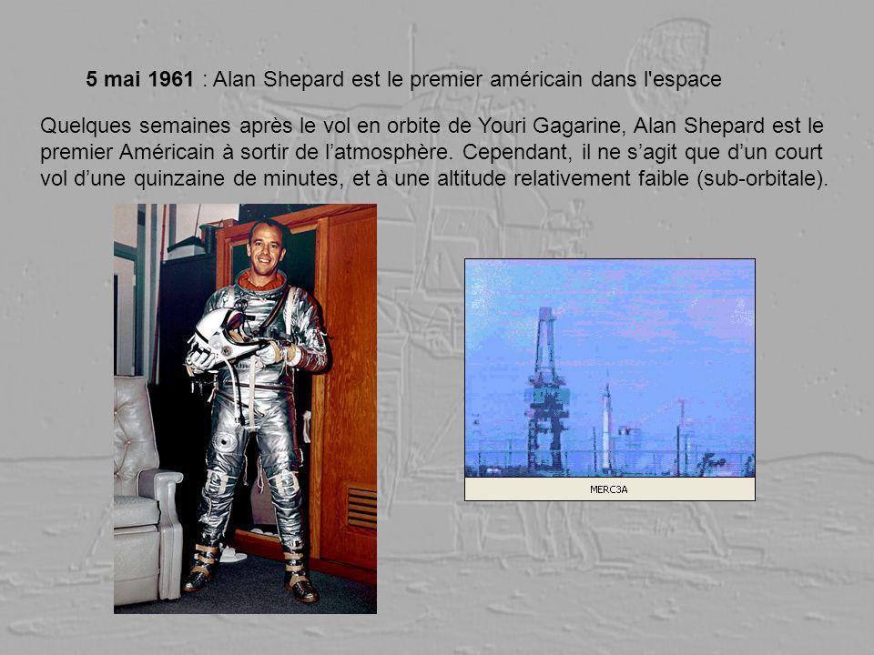 5 mai 1961 : Alan Shepard est le premier américain dans l espace