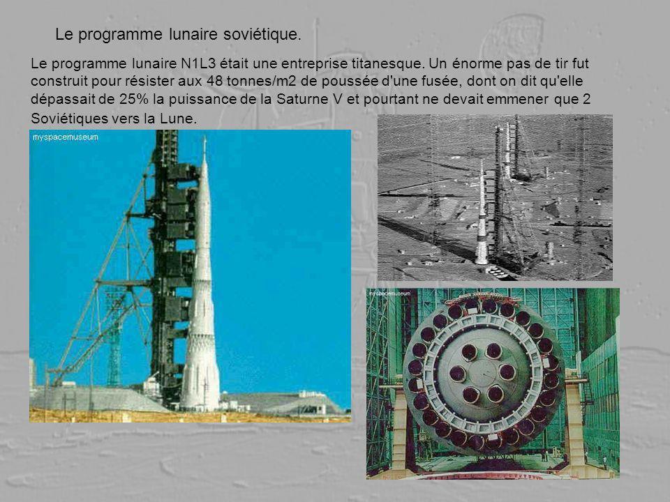 Le programme lunaire soviétique.