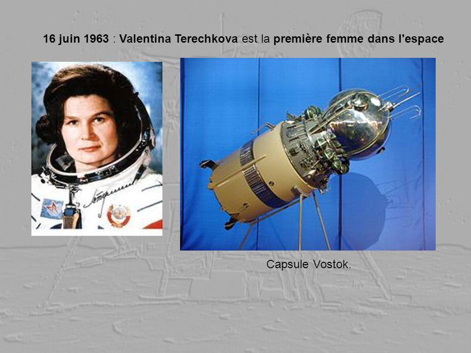 16 juin 1963 : Valentina Terechkova est la première femme dans l espace