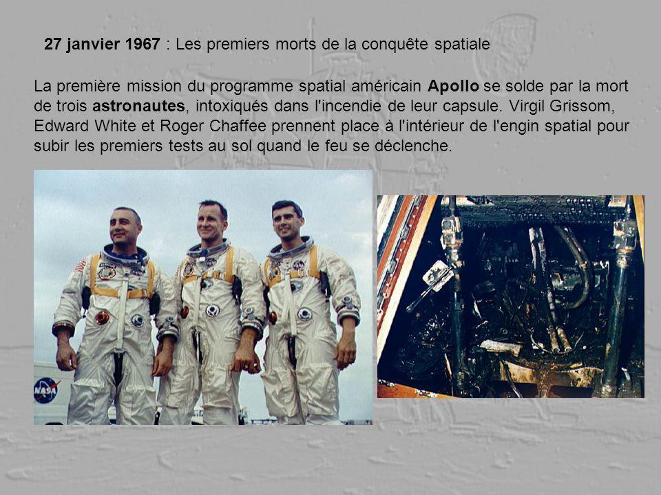 27 janvier 1967 : Les premiers morts de la conquête spatiale