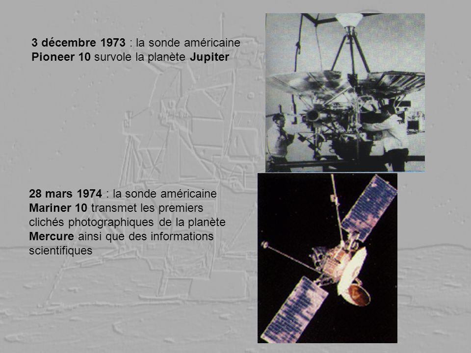 3 décembre 1973 : la sonde américaine Pioneer 10 survole la planète Jupiter