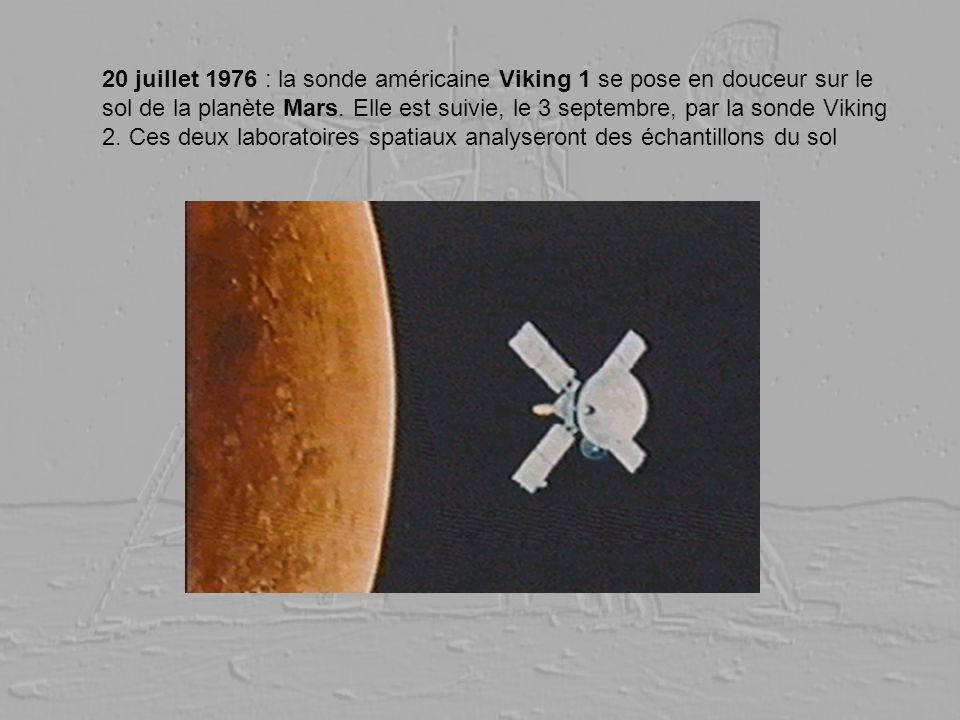 20 juillet 1976 : la sonde américaine Viking 1 se pose en douceur sur le