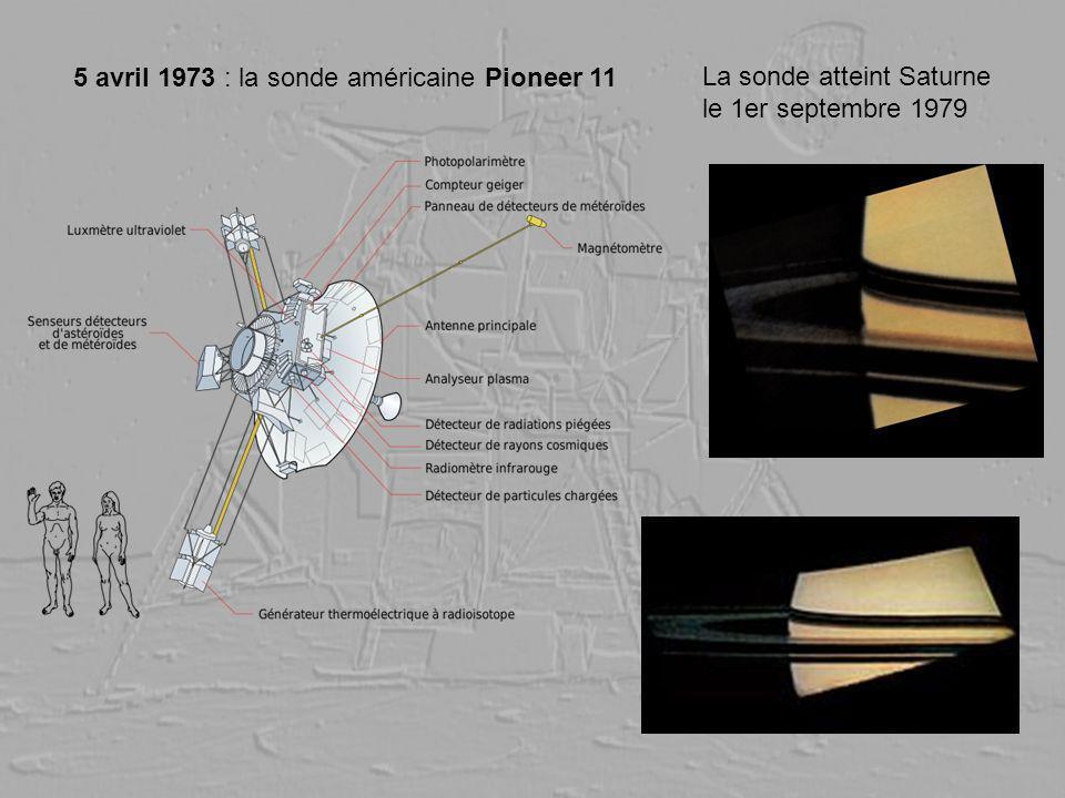 5 avril 1973 : la sonde américaine Pioneer 11