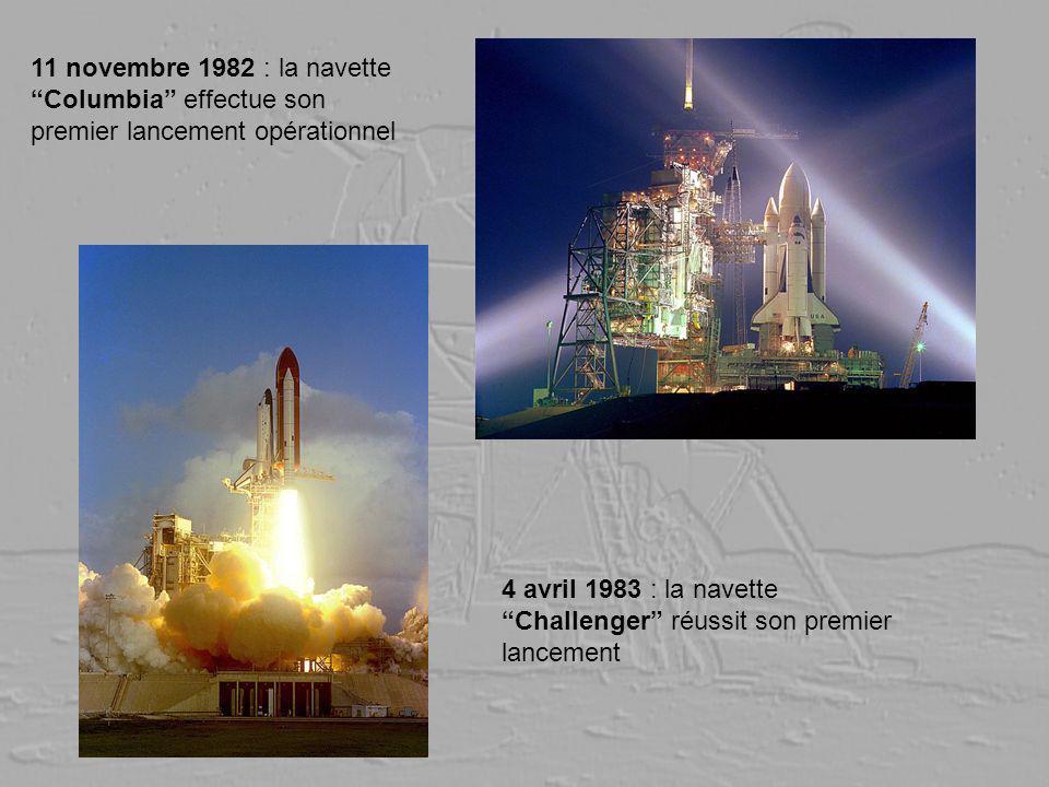 11 novembre 1982 : la navette Columbia effectue son