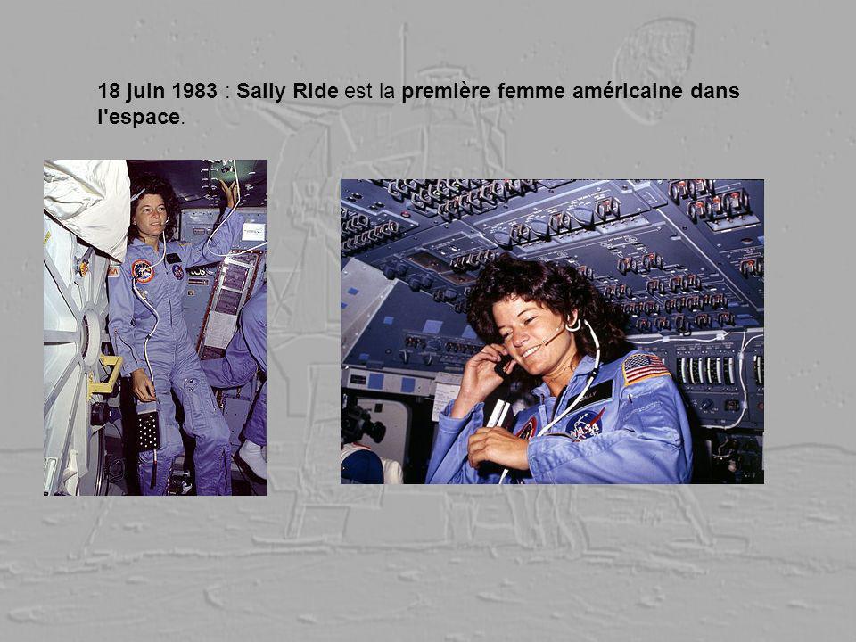 18 juin 1983 : Sally Ride est la première femme américaine dans