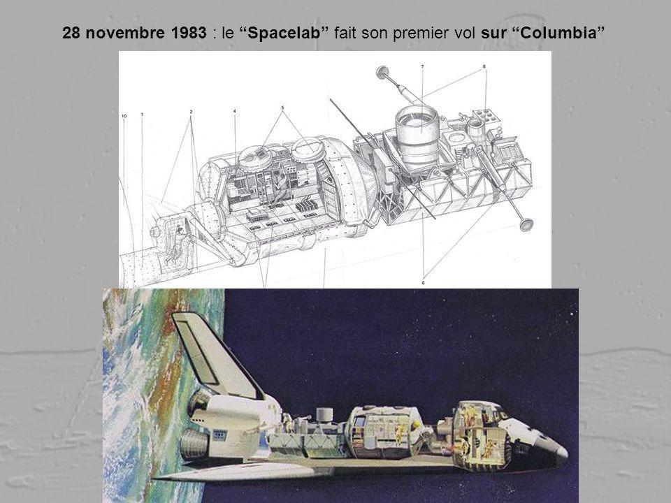 28 novembre 1983 : le Spacelab fait son premier vol sur Columbia
