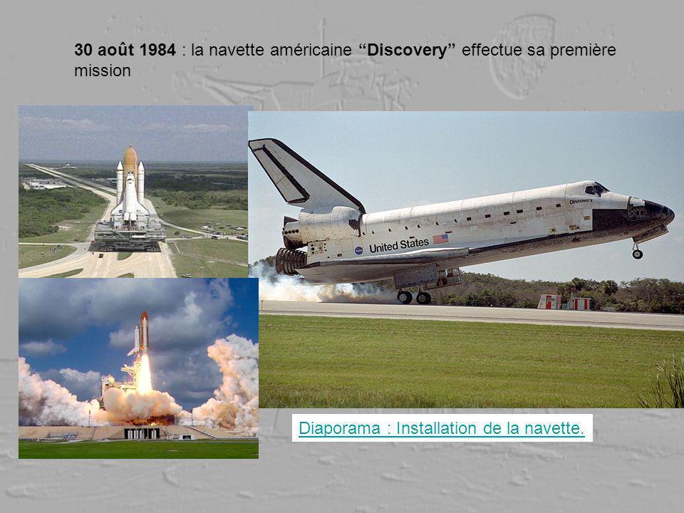 30 août 1984 : la navette américaine Discovery effectue sa première